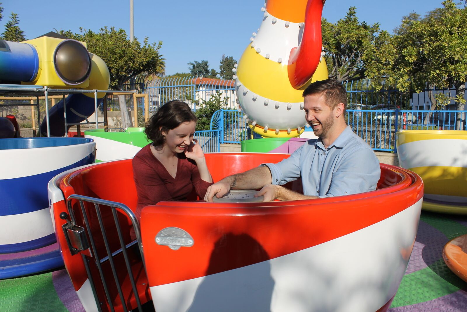 The Best Outdoor Kiddie Rides in Vista