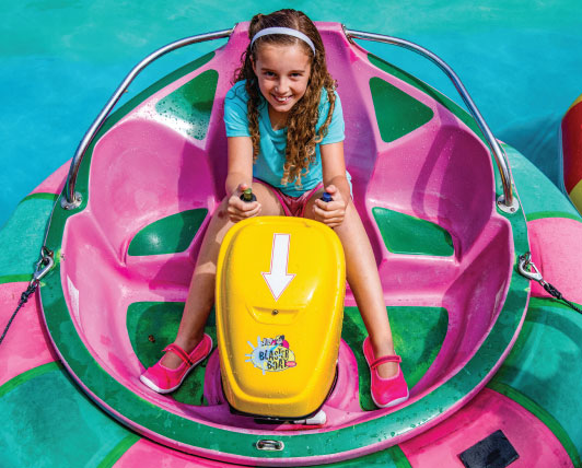 Vista's Best Kids Bumper Boats